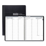 House Of Doolittle Recycled Two-Year Professional Weekly Planner, 8 1/2 x 11, Black, 2017-2018