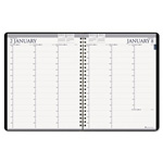 "House Of Doolittle Professional Weekly/Monthly Planner, 12 Month, One Week/Spread, 8 1/2"" x 11"", BK"