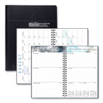 House Of Doolittle Recycled Academic Weekly/Monthly Appointment Book/Planner, 5x8, Black, 2018-2019