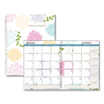 House Of Doolittle Whimsical Floral Monthly Planners, 8 1/2 x 11, 2019