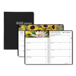 House Of Doolittle Recycled Gardens of the World Weekly/Monthly Planner, 7 x 10, Black, 2017