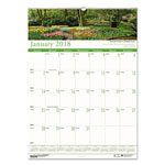"House Of Doolittle Earthscapes™ Gardens Of The World Monthly Wall Calendar, Wirebound, 12"" x 16 1/2"""