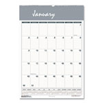 House Of Doolittle One Month Per Page Wirebound Monthly Wall Calendar, 15 1/2 x 22