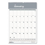 House Of Doolittle One Month Per Page Wirebound Monthly Wall Calendar, 22 x 31 1/4
