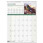 "House Of Doolittle Wild Birds Monthly Wall Calendar, 12"" x 16-1/2"", 2013"