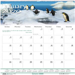 "House Of Doolittle Wall Calendar, Wildlife Scenes, 12-Mth, Jan-Dec, 12""x12"""