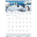 "House Of Doolittle Wall Calendar, Wildlife, 12-Mth, Jan-Dec, Wire Bound, 12"" x 16-1/2"""