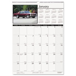 "House Of Doolittle Classic Cars Monthly Wall Calendar, 12"" x 12"", 2013"