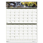 "House Of Doolittle Gardens Of The World 2-Month/Page Wall Calendar, 20"" x 26"""
