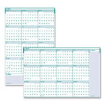 House Of Doolittle Recycled Express Track Reversible/Erasable Yearly Wall Calendar, 24 x 37, 2017