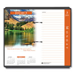House Of Doolittle Full Color Daily Calendar Refill, 3 1/2 x 6