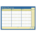 House Of Doolittle Reversible Laminated Organizer, 90/120 Day, 36 x 24