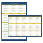 House Of Doolittle 12-Month Laminated Wall Planner, 36 x 24