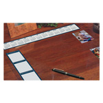 "House Of Doolittle See-Thru Desk Pad Organizer, 36"" x 20"", Vinyl/Clear"