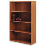 Hon 10500 Series Bookcase, 4 Shelves, 36w x 13-1/8d x 57-1/8h, Medium Oak