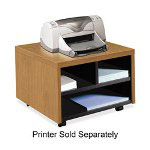 "Hon Mobile Printer/Fax Stand, 20"" x 19-7/8"" x 14-1/8"", Harvest"