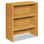 "Hon Bookcase Hutch, f/Lat.File, 32-5/8"" x 14-5/8"" x 37-1/8"", Harvest"