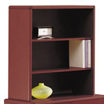 "Hon 10700 Series Bookcase Hutch for 36"" Wide File/Storage Cabinet, Mahogany"