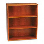 Hon 10700 Series Wood Bookcase, 3 Shelves, Henna Cherry, 36w x 13 1/8d x 43 3/8h