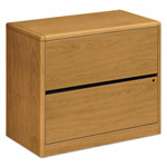 "Hon 2-Drawer Lateral File, 36"" x 20"" x 29-1/2"", Harvest"