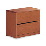 "Hon 2 Drawer Lateral File, 36""x20""x29 5/8"", Cherry"
