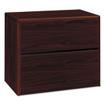 "Hon 2 Drawer Lateral File, 36""x20""x29 5/8"", Mahogany"