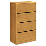 "Hon 4-Drawer Lateral File, 36"" x 20"" x 59-1/8"", Harvest"