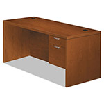 Hon Valido 11500 Series Right Pedestal Desk, 72w x 36d x 29 1/2h, Bourbon Cherry
