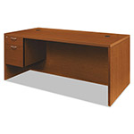 Hon Valido 11500 Series Left Pedestal Desk, 72w x 36d x 29 1/2h, Bourbon Cherry