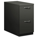 Hon Flagship Mobile File/File Pedestal, Arch Pull, 28-7/8d, Charcoal