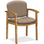 "Hon Fixed Arms Guest Chair, 23-1/2"" x 22"" x 33-1/8"", Morel"