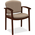 "Hon Guest Chair, Single Rail, 23-1/2"" x 22"" x 33-1/8"", Morel"