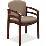 "Hon Guest Chair Fixd Arms, 23-1/2"" x 22"" x 33-1/8"", Morel"
