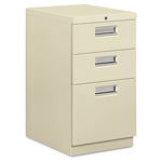 "Hon Brigade 33720 File Cabinet, 20"", Putty"