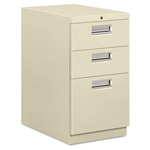 "Hon Brigade 33723 File Cabinet, 23"", Putty"