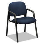 "Hon Side Arm Guest Chair, 23-1/2"" x 24-1/2"" x 32"", Navy"