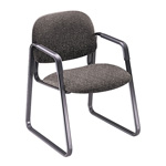 Hon Solutions Seating Sled Base Guest Chair, Olefin, Gray