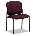 Hon Pagoda 4070 Series 4073 Armless Stacking Chair, Wine