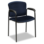 "Hon Tiempo 4600 Series Guest Chair with Arms, 24-3/4"" x 22 1/2"" x 33"", Mariner"