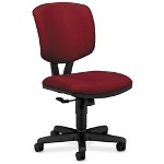 Hon Volt Series Swivel Task Chair, Stain Resistant Burgundy Polyester