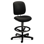 Hon ComforTask Task Swivel Stool, Black