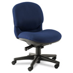 Hon Sensible Seating Mid-Back Pneumatic Swivel Chair, Mariner