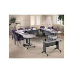 Hon 61000 Series Training Table with Casters, Rectangular, 60w x 30d x 29 1/2h