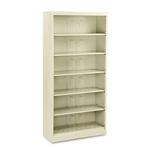"Hon 600 Series File Shelf, 36"", 6 Shelves, Letter Size, Beige"