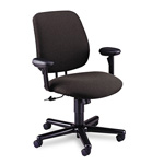 Hon 24 Hour Series Swivel Task Chair, Stain Resistant Gray Fabric