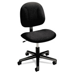 Hon Every Day Series Swivel Task Chair, Stain Resistant Black Fabric