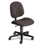 Hon Every Day Series Swivel Task Chair, Stain Resistant Gray Fabric