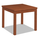 Hon Laminate Occasional Table, Square, 24w x 24d x 20h, Cognac
