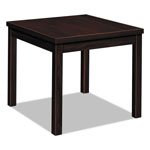 "Hon Laminate Corner Table, Mahogany, 24""x24""x20"""