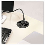 "Hon Power Hub Grommet, 3"" Diameter, Black"